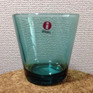 Kartio / Glass 21 cl / seablue / Kaj Franck 1958