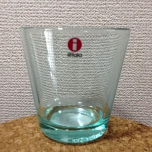 Kartio / Glass 21 cl / water green / Kaj Franck 1958