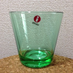 Kartio / Glass 21 cl / light green / Kaj Franck 1958